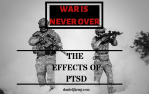 War is never over PTSD effects image