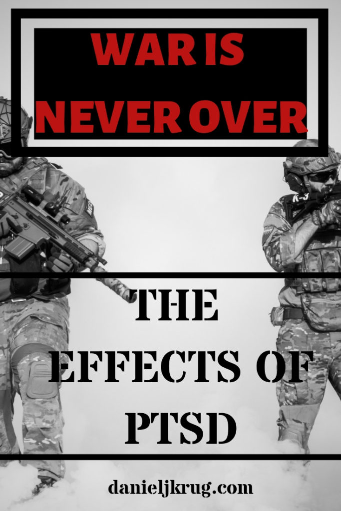 WAR IS NEVER OVER pinterest graphic