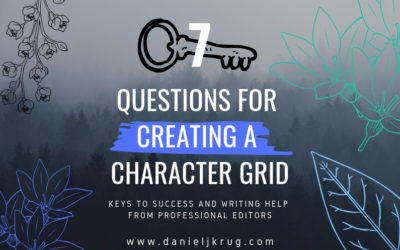 Creating a Character Grid – Editing for character development