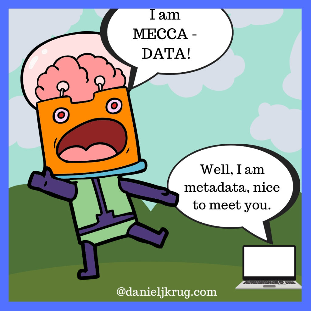 MEtadata cartoon descriptor