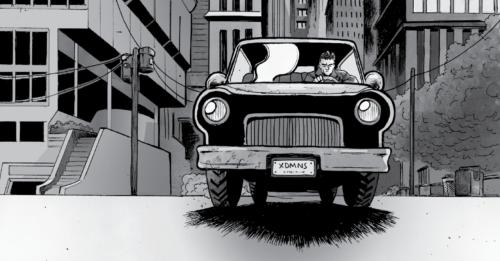 Jonathon Driving Away